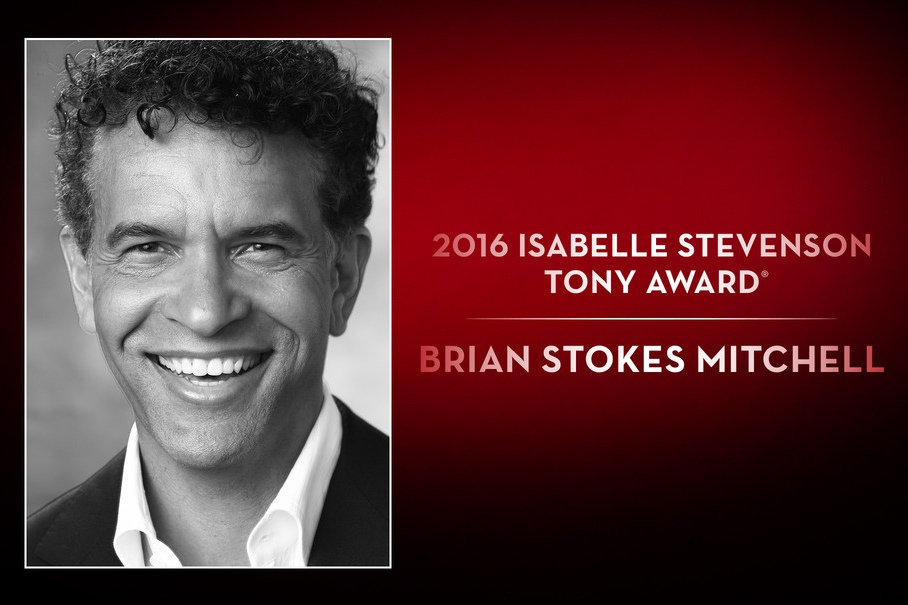 Brian Stokes Mitchell is the recipient of the 2016 Isabelle Stevenson Tony Award.