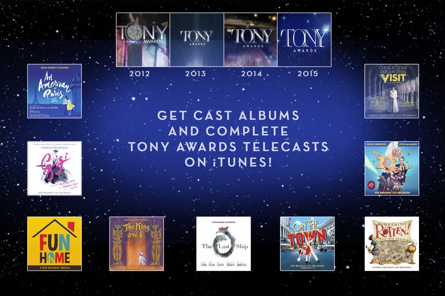 Get cast albums and complete Tony Awards telecasts on iTunes!